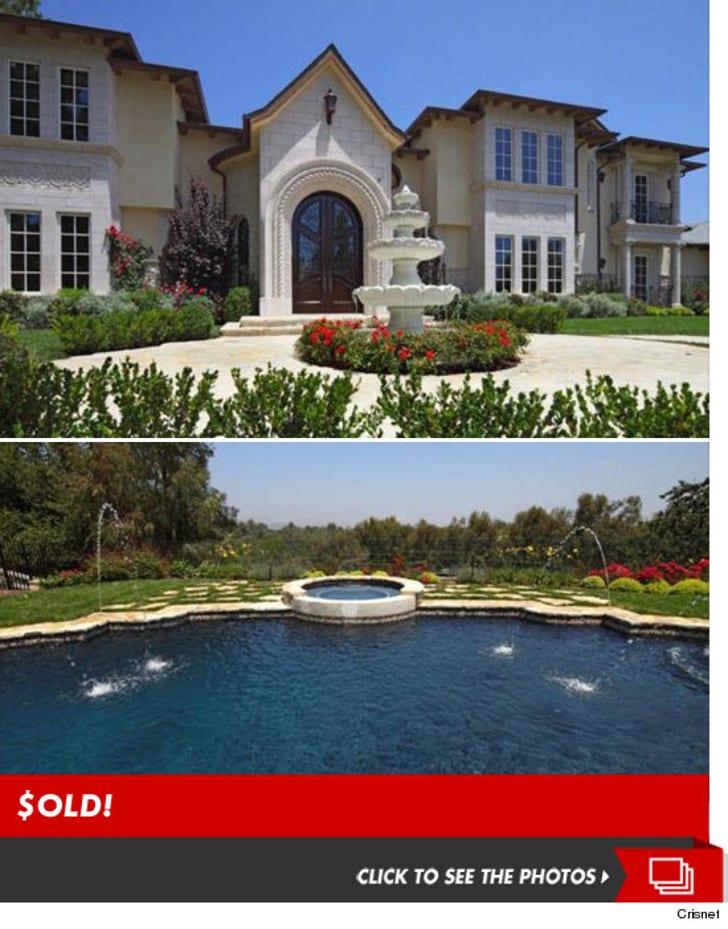 Tamar Braxton's House -- SOLD!
