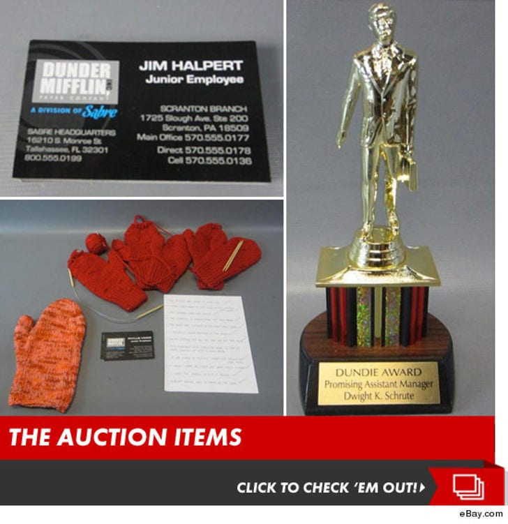 """""""The Office"""" -- eBay Auction Items"""