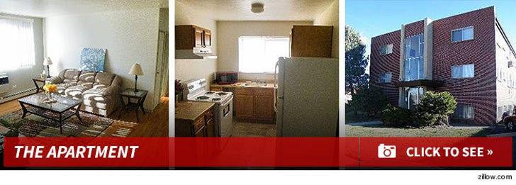 James Holmes' Apartment in Aurora, Colorado