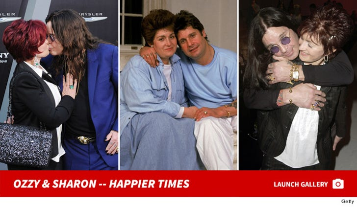 Ozzy and Sharon Osbourne -- Together