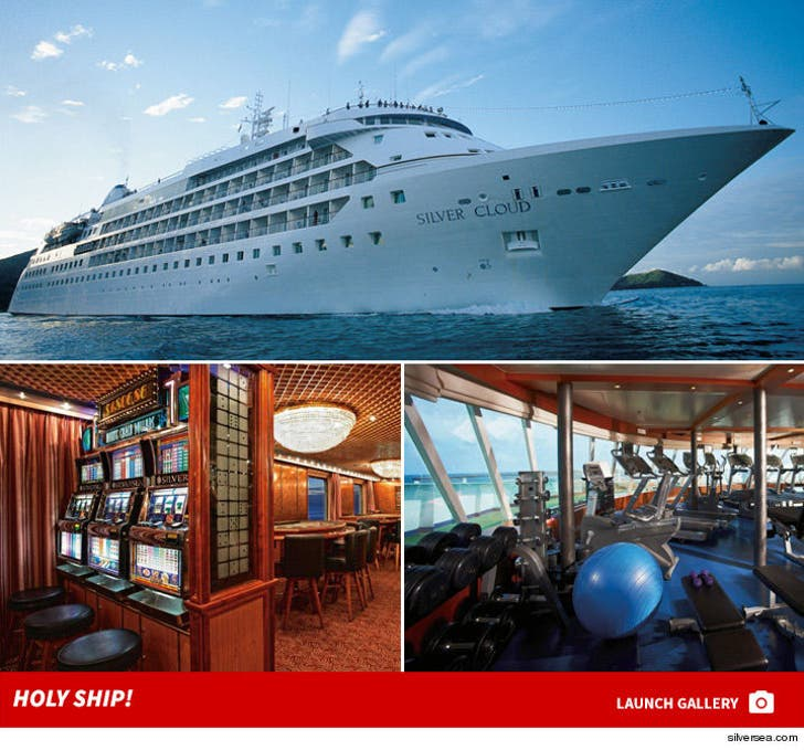 Team USA Basketball -- Living On Massive Cruise Ship ... No Hotel Rooms In Rio