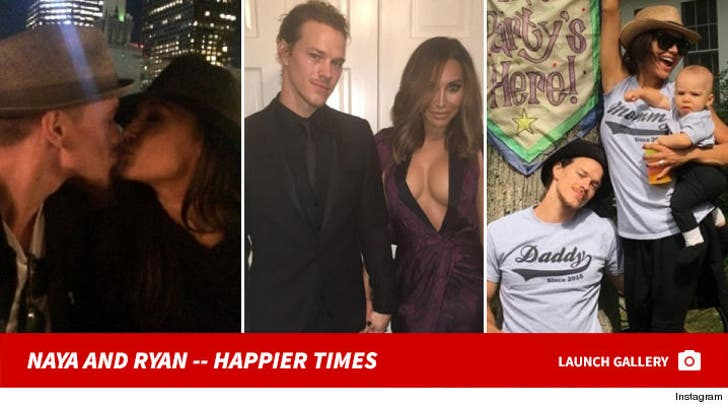 Naya Rivera and Ryan Dorsey Together