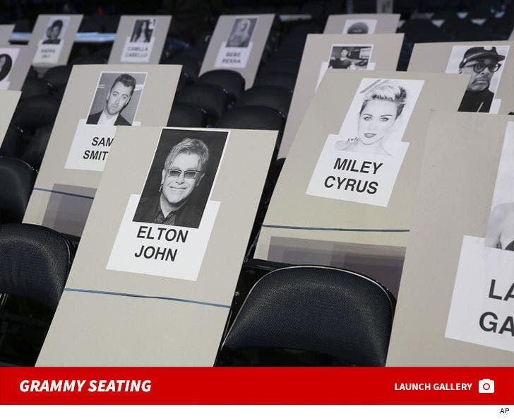 2018 Grammy Seating Chart