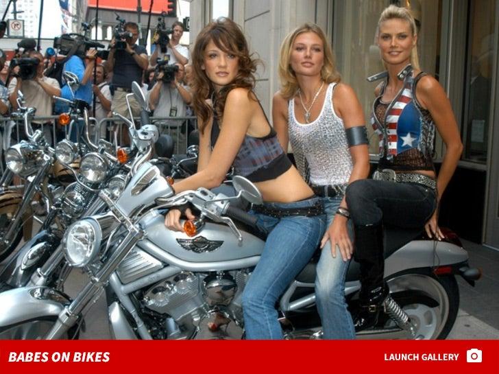 Biker Babes -- Vroom Vroom!