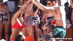 Tony Parker -- RAGING IN VEGAS ... at Suspected Bachelor Party