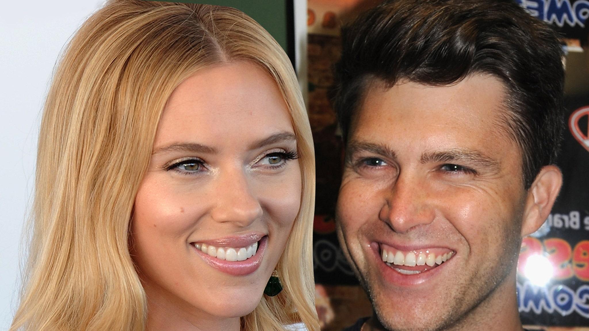 Scarlett Johansson and Colin Jost Married in Private Ceremony - TMZ