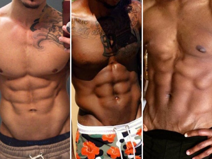 Celebrity Six Packs -- Guess the Washboards! Part 2