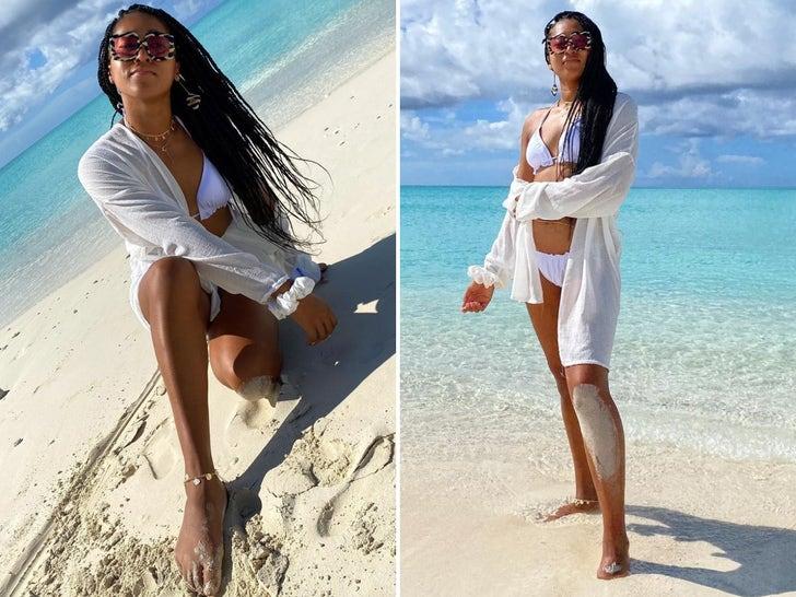 Naomi Osaka's Beach Shots