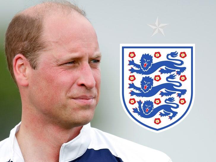 prince william england soccer