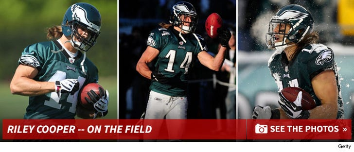 Riley Cooper -- On The Field