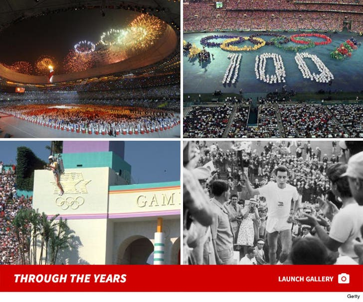 Olympic Opening Ceremonies -- Through the Years