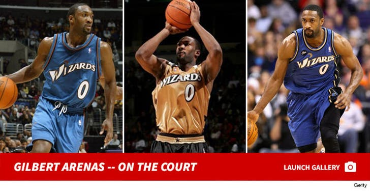 Gilbert Arenas -- On the Court
