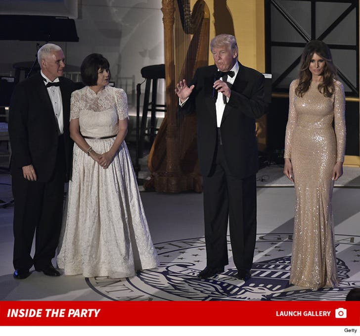 Trump Cabinet Dinner Party