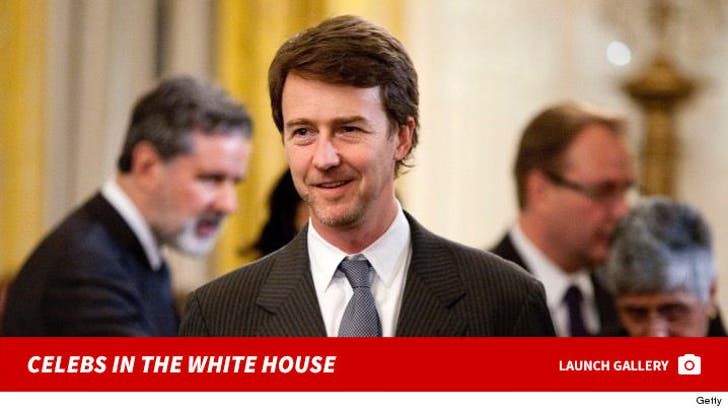 Celebs in The White House