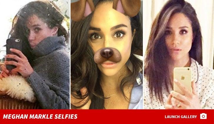 Meghan Markle Selfies