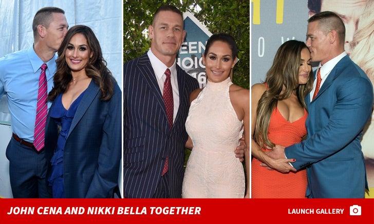 Nikki Bella and John Cena Together