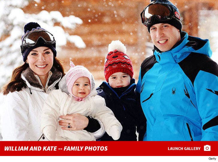 Prince William And Kate Middleton -- Royal Family Photos