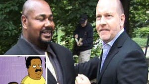 'Family Guy's' Cleveland Is White?!