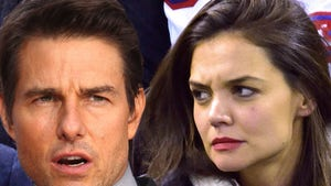 Tom and Katie Aren't Fighting Over Scientology ... They Just Hate Each Other