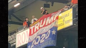 Cops Eject Fans Over Trump 2020 Banner at Baltimore Orioles Game