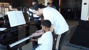 Steve Aoki Gives Piano Lesson to 6-Year-Old Wish Kid 'DJ Masterpiece'