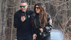 Teresa Giudice Touchy-Feely with Hot Pool Guy on Heels Of Split with Joe