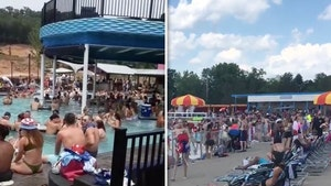 4th of July Sees Packed Water Park & Pool Parties Despite COVID Spikes