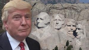 Trump To S. Dakota Governor: Put Me On Mount Rushmore