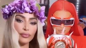 Kim Kardashian, Kylie Jenner Do 'Tiger King' and Power Rangers for Halloween