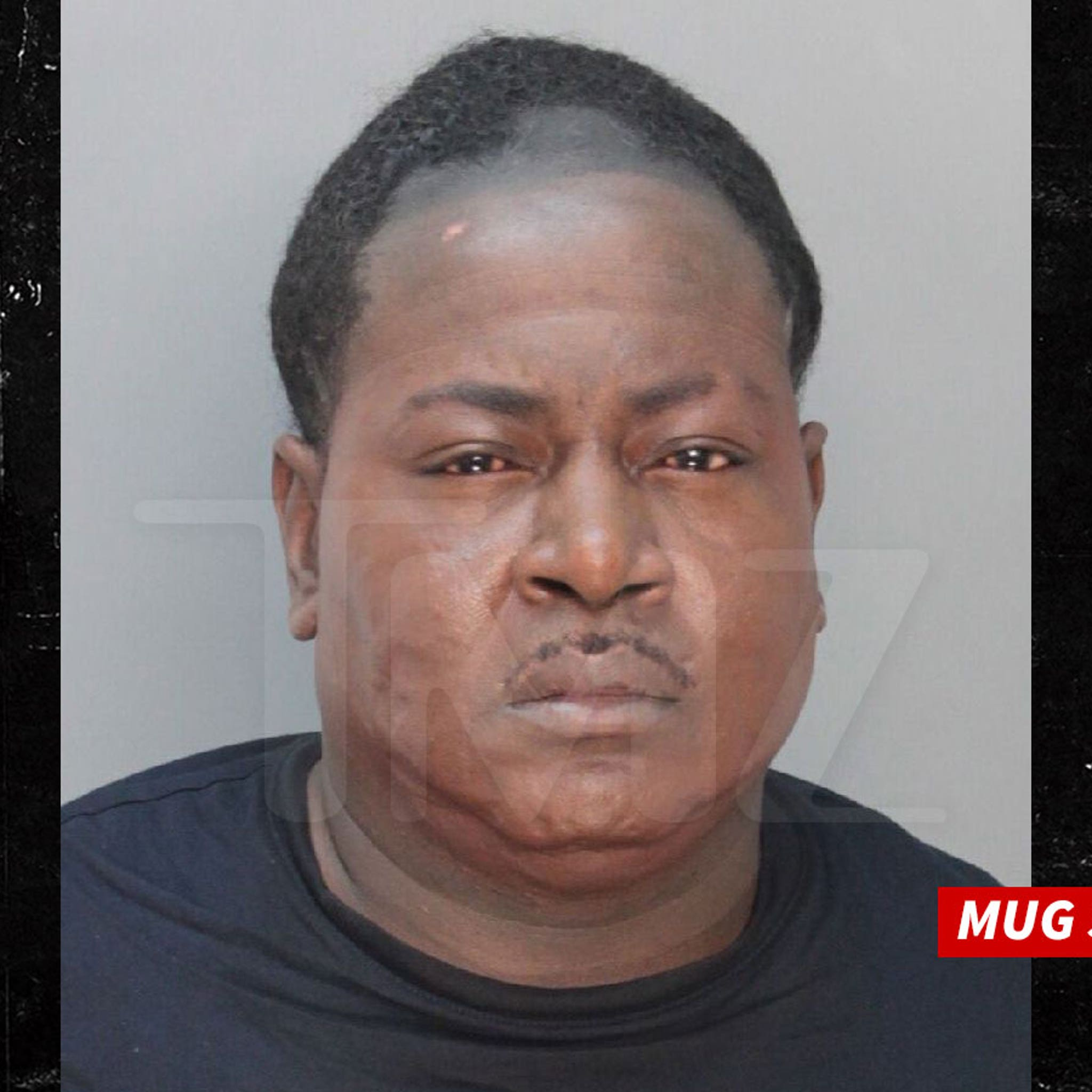 Trick Daddy Looks Horrible in Mug Shot Because of Lupus