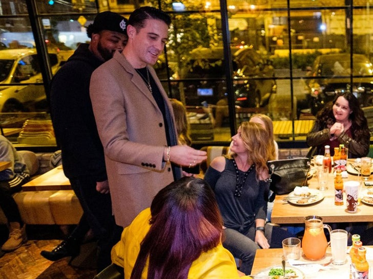 G-Eazy -- Feeds Fans at Nando's