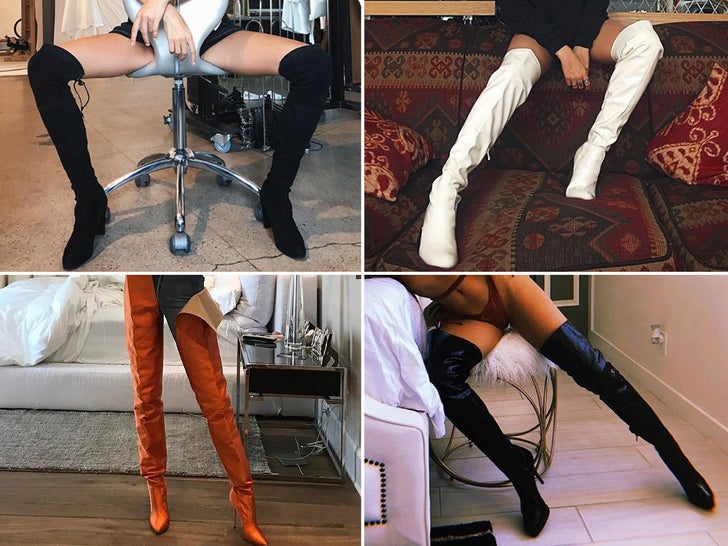 Thigh High Hotties -- Guess Who!