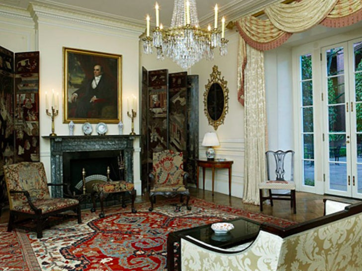 Inside The Blair House in D.C.