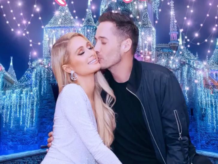 Paris Hilton and Carter Reum -- The Happy Couple
