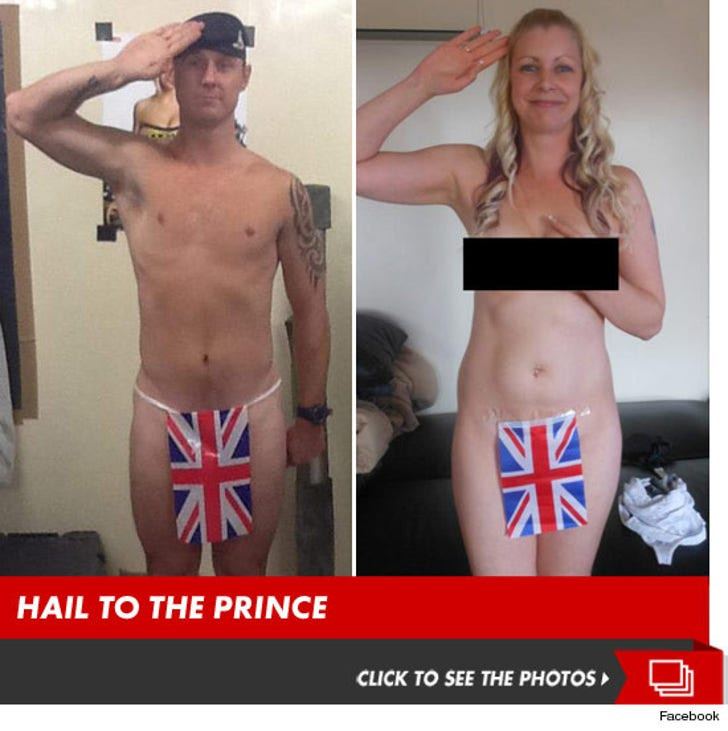 Prince Harry -- Supporters STRIP NAKED In Show of Solidarity