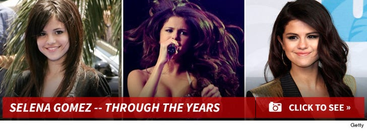 Selena Gomez -- Through the Years