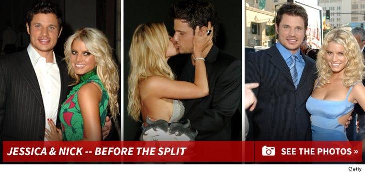 Jessica Simpson & Nick Lachey -- Before the Split
