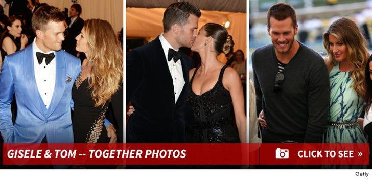 Gisele Bundchen & Tom Brady -- Together Photos