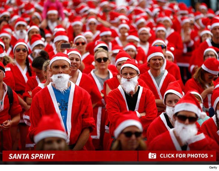 Run Santa, Run! -- Auckland's Annual Santa Run