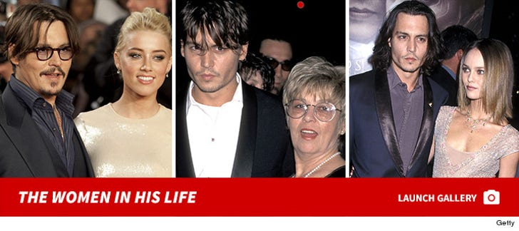 Johnny Depp - The Women In His Life