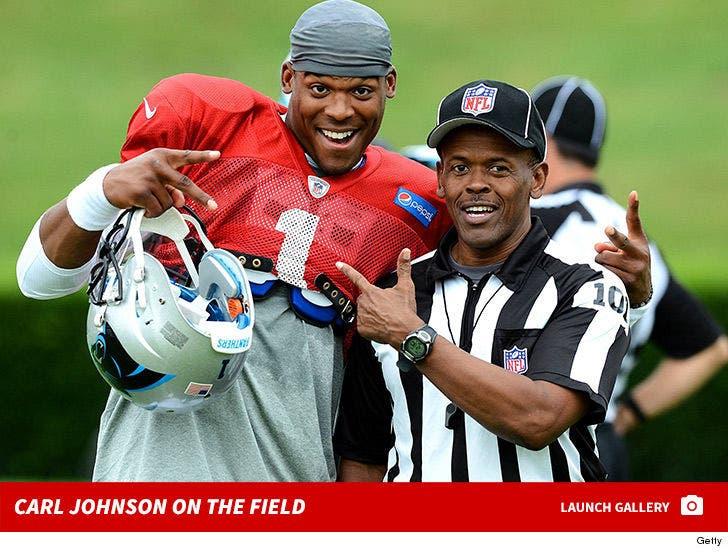 Carl Johnson on the Field