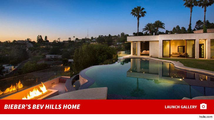 Justin Bieber's Beverly Hills Rental Home