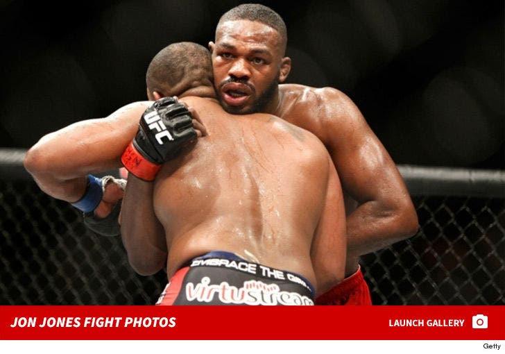 Jon Jones -- Fight Photos