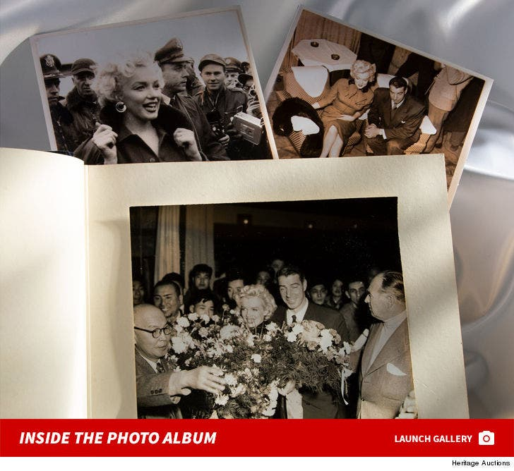 Marilyn Monroe & Joe DiMaggio's 1954 Honeymoon Photo Album