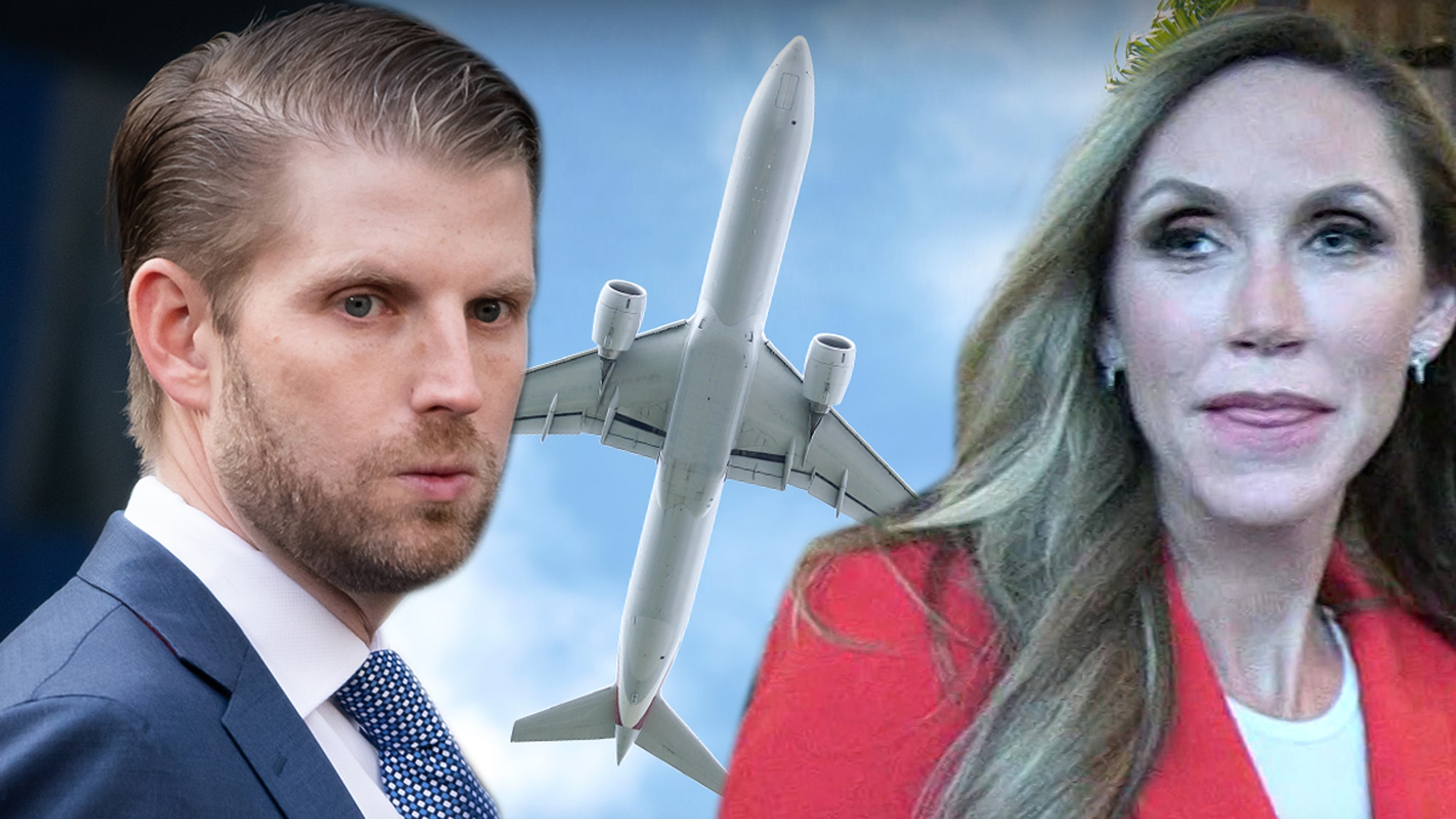 Eric Trump Flies Coach Back to New York ... First Family Times are Over
