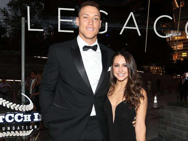 Aaron Judge and Samantha Bracksieck Together