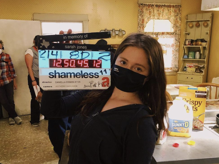 'Shameless' -- Behind The Scenes Photos