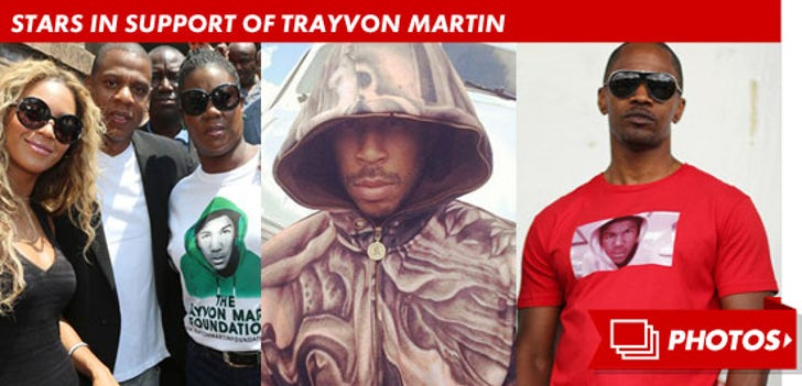 Stars In Support of Trayvon Martin