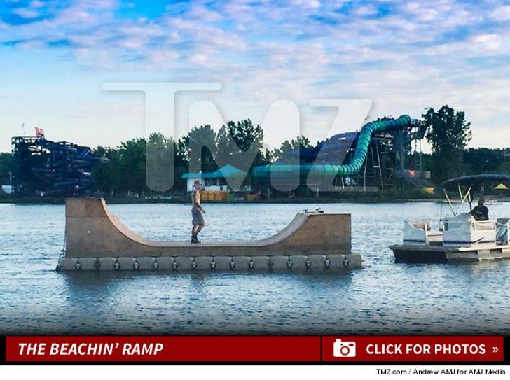 Justin Bieber's Beachfront Skatepark