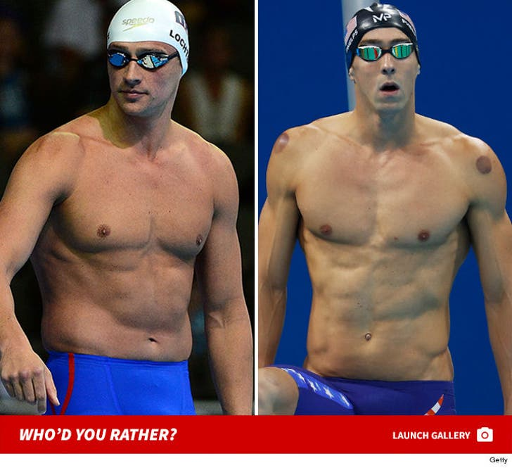 Sexy Rio 2016 Olympians -- Who'd You Rather?